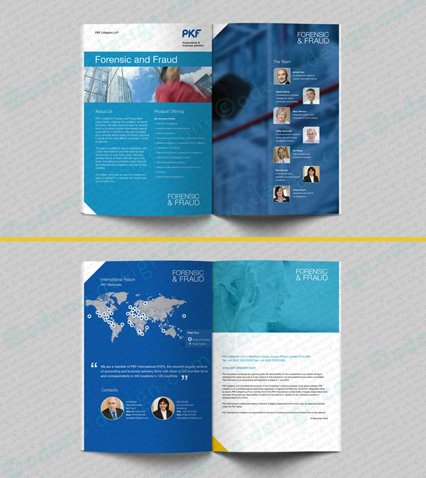 PKF LittleJohn LLP Brochure Design